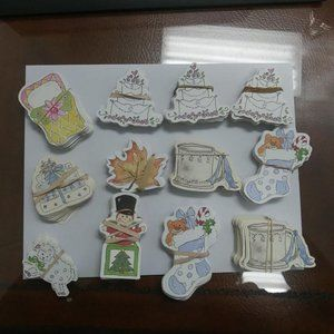 Other - Assorted Craft Scrapbook Die Cuts / Gift Tags